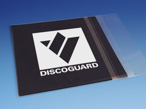 """7"""" Record Sleeves With Adhesive Strip - 30 Micron"""