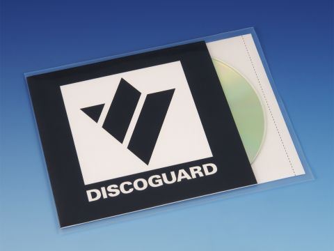Plastic sleeves for CD, booklet and inlay