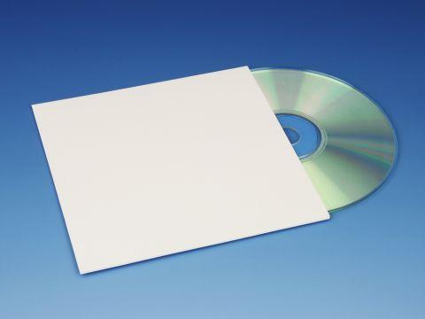 Cardboard CD Jackets - White
