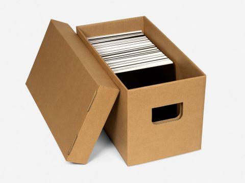 "Storage Box for 7"" Records"