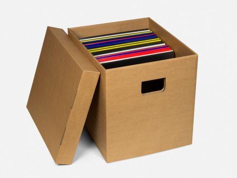 "Storage Box for 12"" Records"
