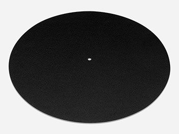 Felt Slipmat Black